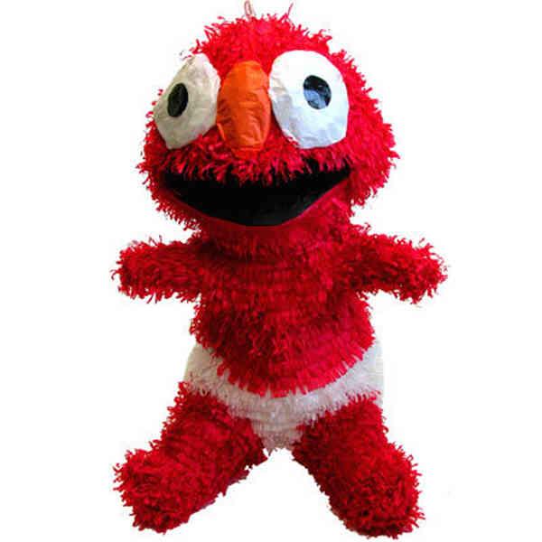 Sesame Street  Baby Elmo pinata Blank  ImprintItemscom Custom