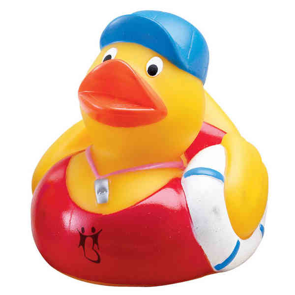 Rubber Duck Bath Duck Lifeguard