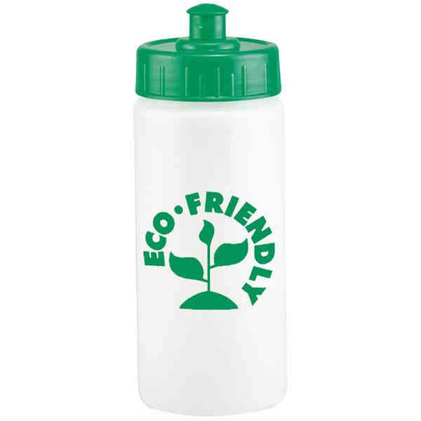 Item #16EFB Earth Friendly - 48 Hour Gold Rush service - 16 oz. Earth friendly fitness bottle.