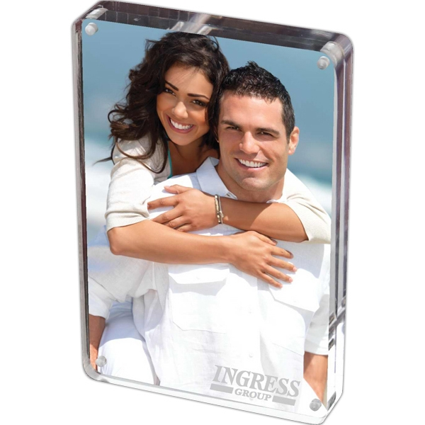 Item #AC5X7 Prato - Two-Sided Acrylic Photo Frame
