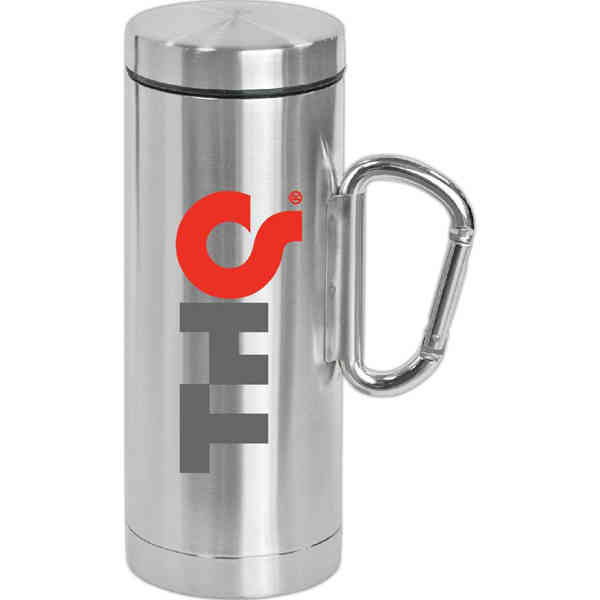 Travel Mug With Clip Handle