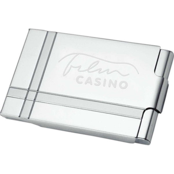 Item #TL130 Contempo Business Card Holder