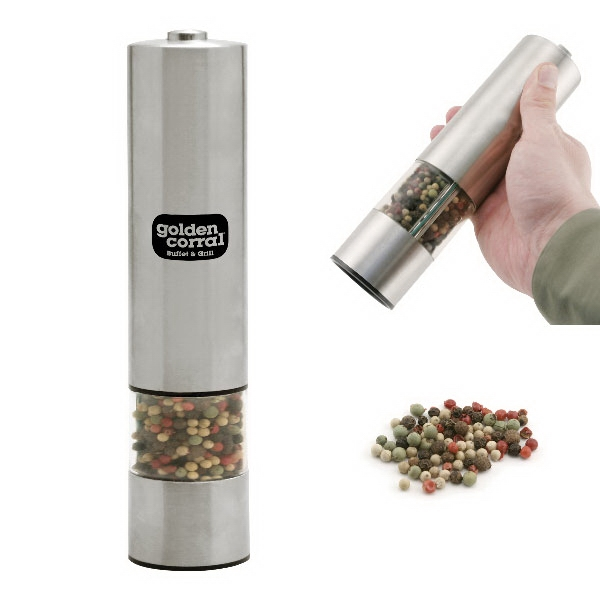 Item #AD-1105 Electric Pepper Mill with Light