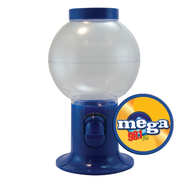 Item #GM06-GUMBALL Gumball Machine Dispenser - Empty - Fill With Candy or Gum