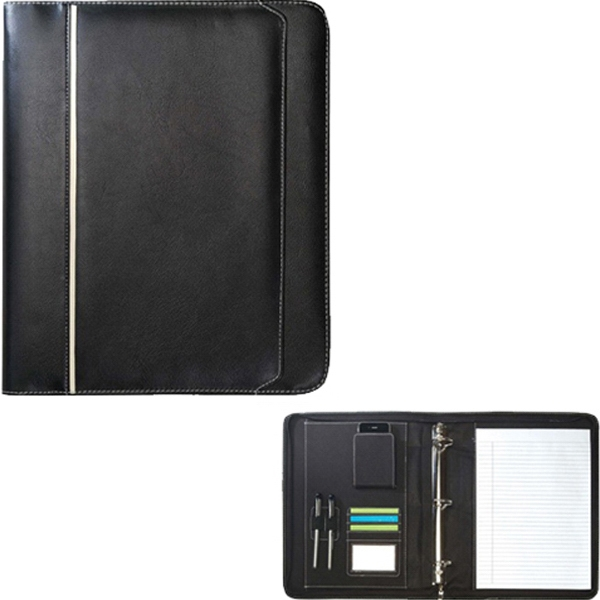 Item #B-8120 Zippered Binder Padfolio