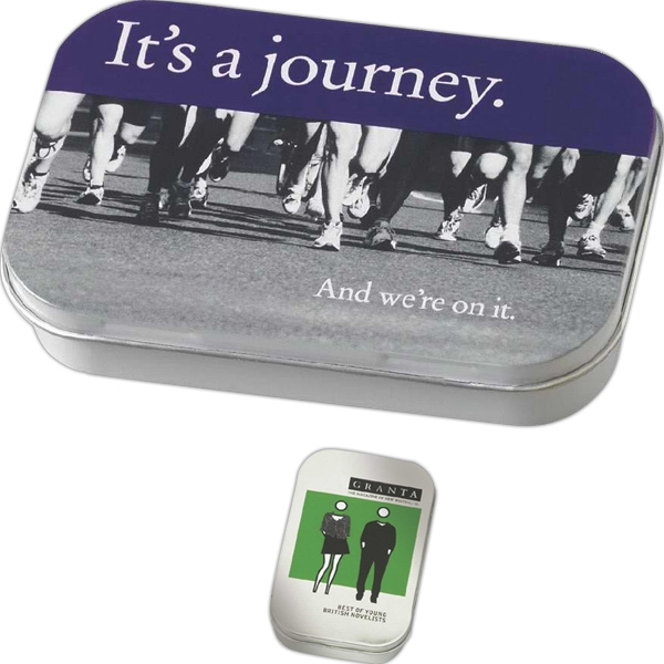 Item #305 Rectangular Tin Filled with MicroMints®