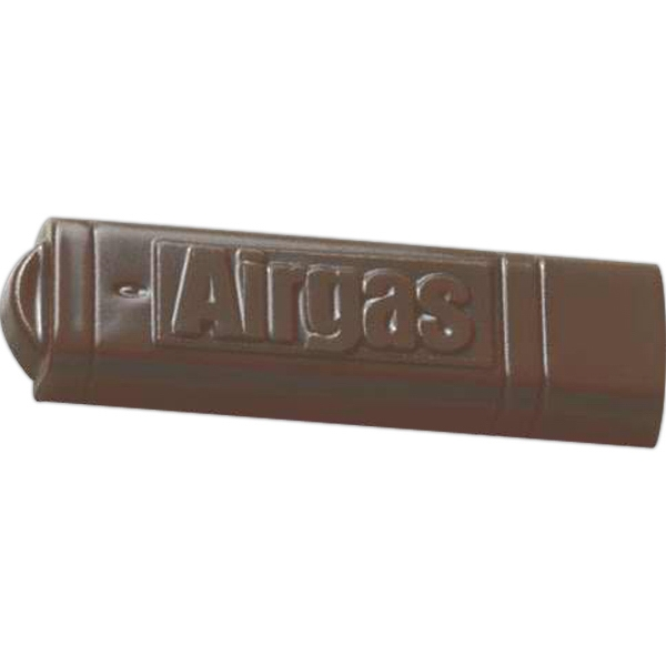 Item #USB Stick 1 oz. USB memory stick shape molded chocolate