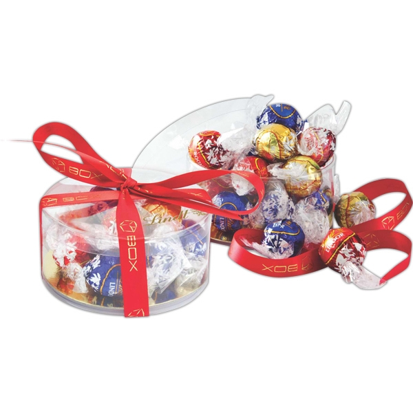 Item #LT175 Lindt Clearview Gift Box of Assorted Truffles