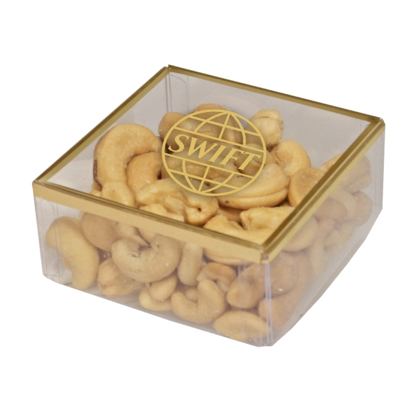 Item #SD-CASHEWS Sweet Dreams Plastic Box with Cashews Nuts