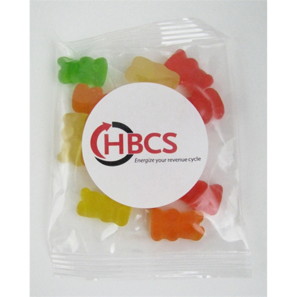 Item #GB-GB 1oz. Gummy Bears Goody Bag
