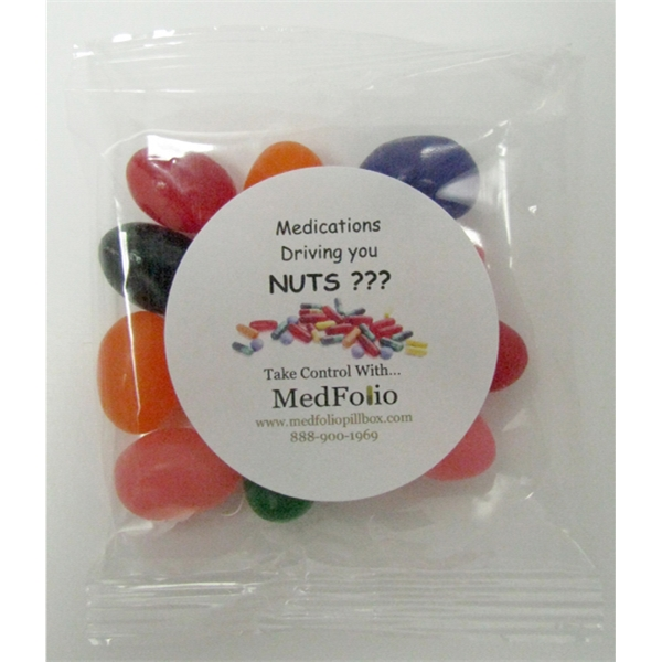 Item #GB-JEL 1oz. Assorted Jelly Beans Goody Bag