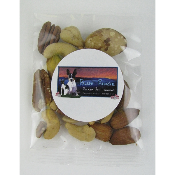 Item #GB-DMN 1oz. Deluxe Mixed Nuts Goody Bag