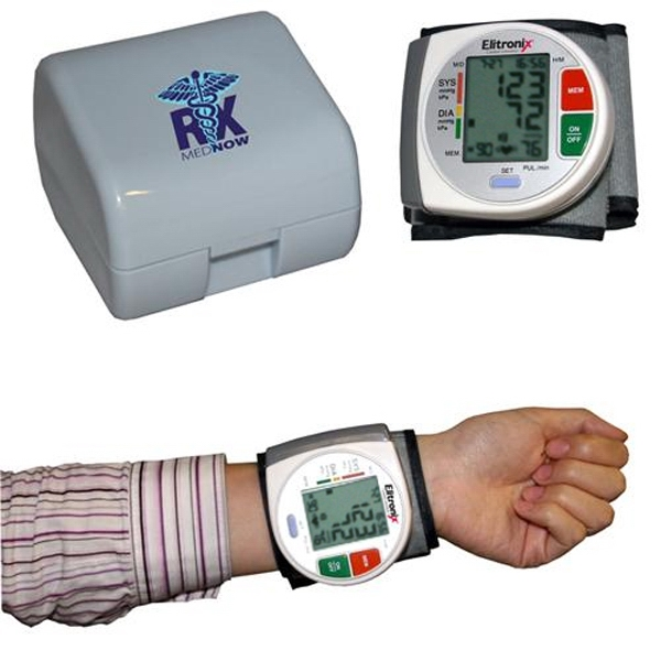 Item #AD-537 Wrist Blood Pressure Monitor - With Heart Health Indicator