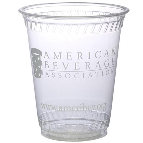 Item #3021-QS Eco-Friendly Compostable 7 Ounce Soft Sided Plastic Cup