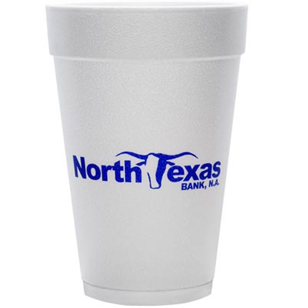 Item #3045-HS Foam Insulated 16 Ounce Hot Cold Foam Cup