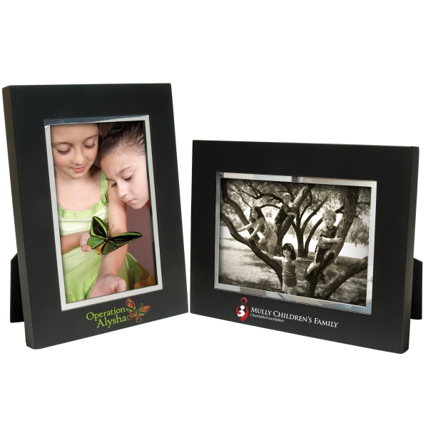 Item #3746 4 x 6 Black Wood Frame