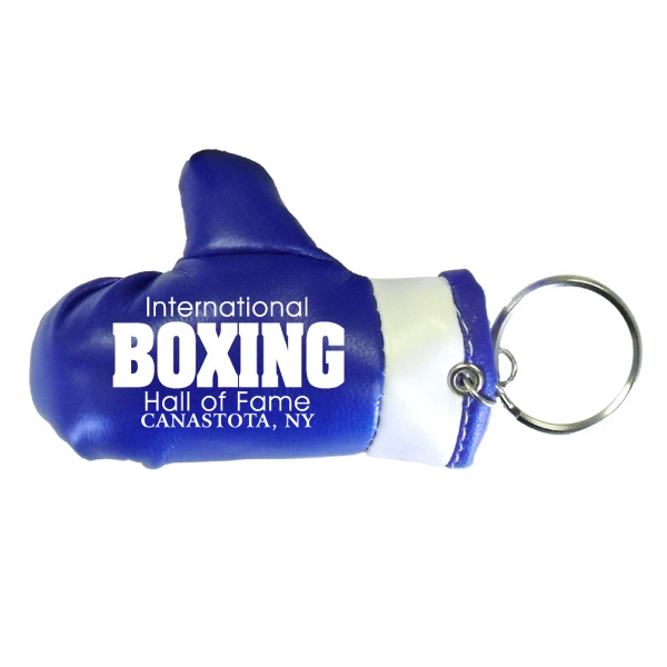 Item #BOXING 630BLUE Boxing Glove Keychain - Blue - E630