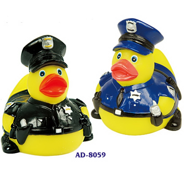 Item #AD-8059 Heroic Police Duck