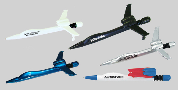 Item #MARINE JET 738 Airplane Pen