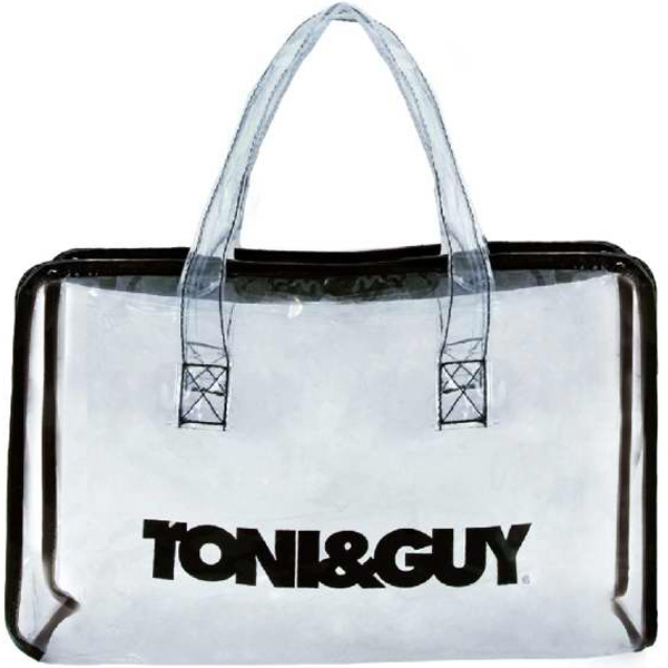 Item #AW-397 Clear Salon Zipper Tote