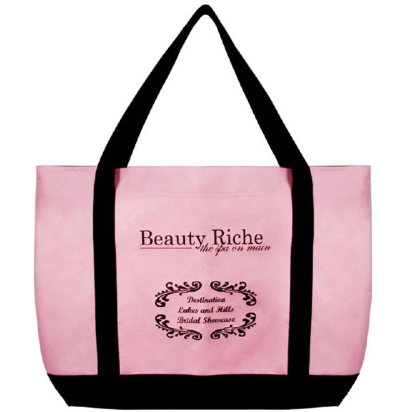 Item #AW-408 Large Zippered Tote