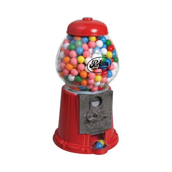 "Item #AD-1307 11"" Antique Style Die-Cast Gumball Machine"