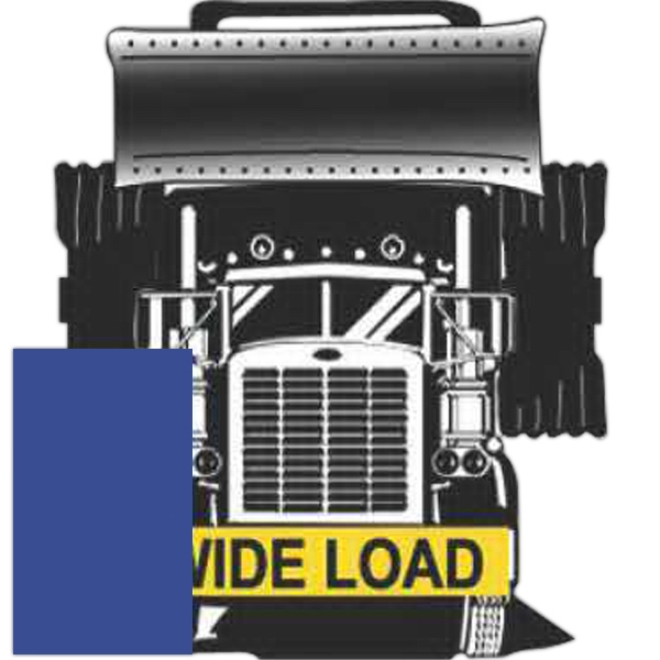 "Item #DF450 18"" x 72"" Oversize load / wide load semi-trailer truck sign"
