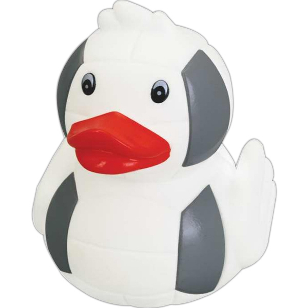 Item #IS-0288 Rubber Cute Volleyball Duck