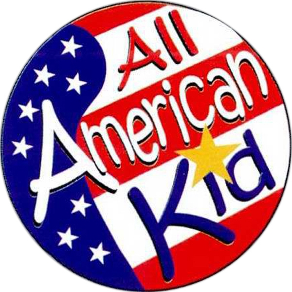 Item #S-15 All American Kid Sticker Rolls