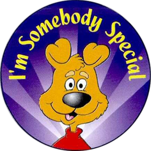 Item #S-70 I'm Somebody Special Sticker Rolls