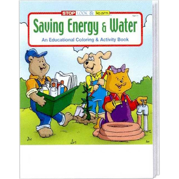 Item #0320FP Saving Energy and Water Coloring and Activity Book Fun Pack
