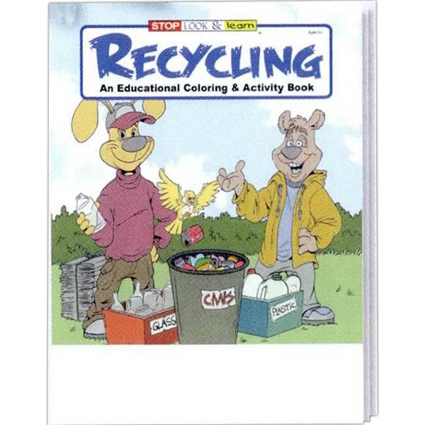 Item #0325FP Recycling Coloring and Activity Book Fun Pack