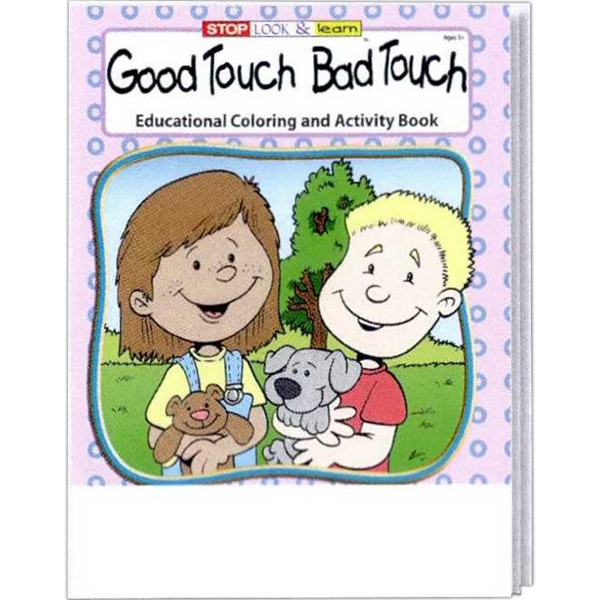 Item #0185FP Good Touch Bad Touch Coloring and Activity Book Fun Pack