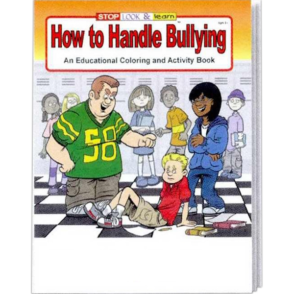 Item #0235FP How to Handle Bullying Coloring and Activity Book Fun Pack