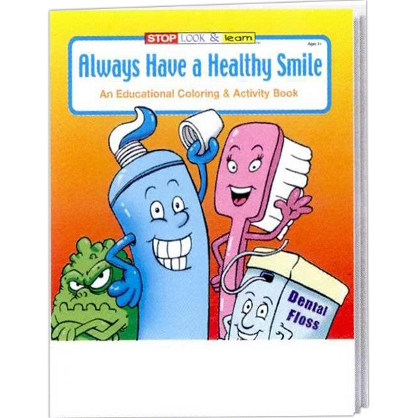 Item #0340 Always Have a Healthy Smile Coloring and Activity Book