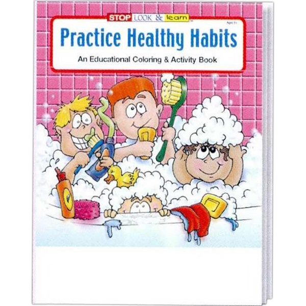 Item #0435 Practice Healthy Habits Coloring and Activity Book