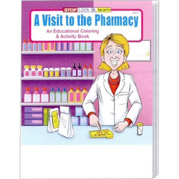 Item #0410FP A Visit to the Pharmacy Coloring and Activity Book Fun Pack