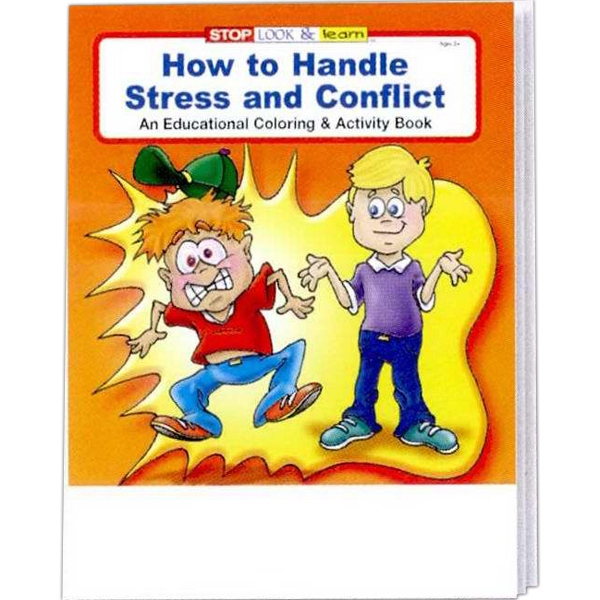 Item #0455 How to Handle Stress and Conflict Coloring and Activity Book