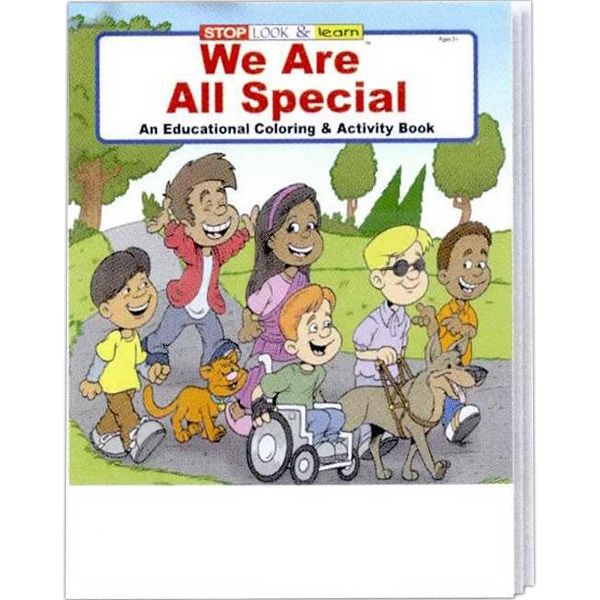 Item #0460FP We Are All Special Coloring and Activity Book Fun Pack