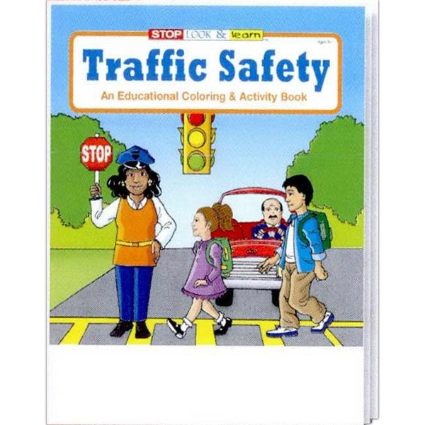 Item #0270FP Traffic Safety Coloring and Activity Book Fun Pack