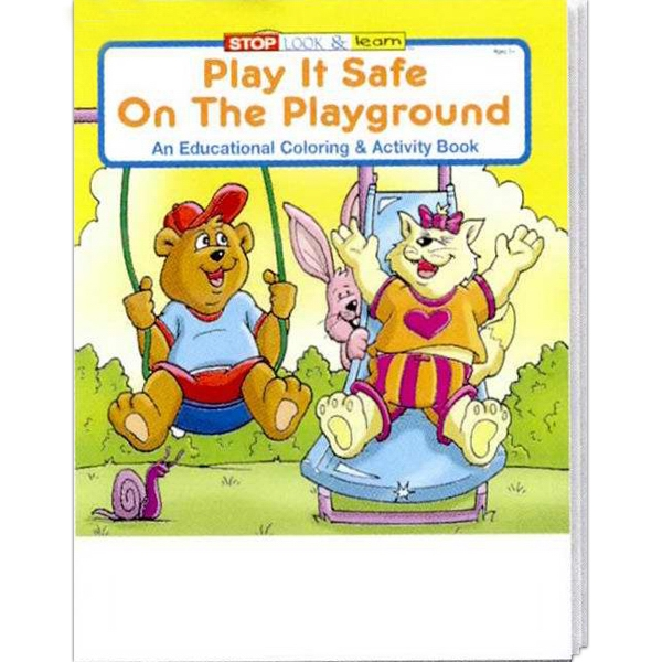 Item #0250 Play It Safe On The Playground Coloring and Activity Book