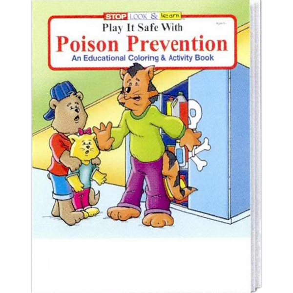 Item #0280 Play it Safe with Poison Prevention Coloring & Activity Book