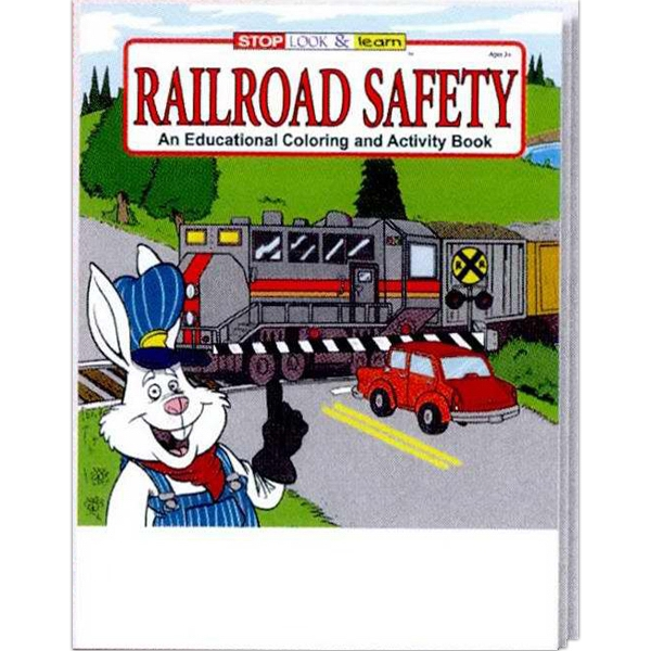 Item #0275 Railroad Safety Coloring and Activity Book