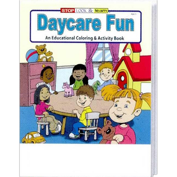 Item #0599FP Daycare Fun Coloring and Activity Book Fun Pack