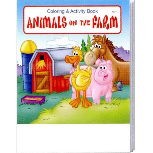 Item #0570 Animals on the Farm Coloring and Activity Book