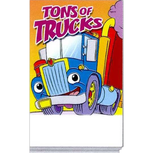 Item #0056FP Tons Of Trucks Activity Pad Fun Pack
