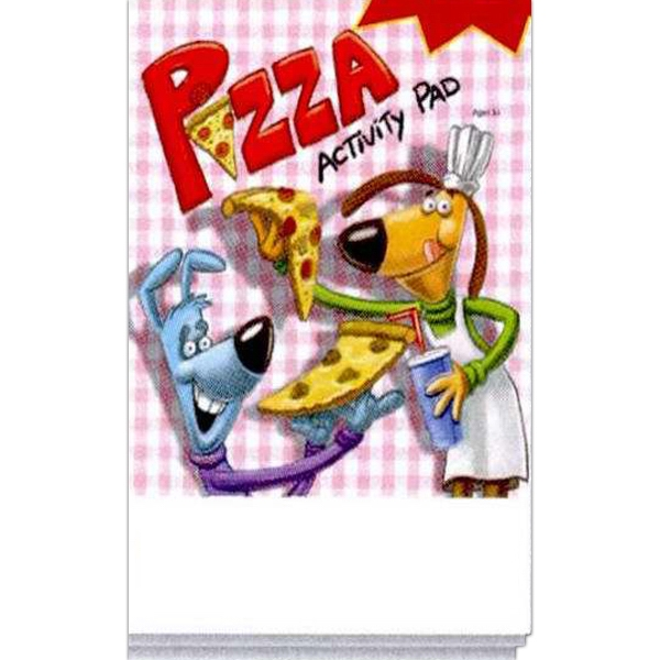 Item #0058FP Pizza Activity Pad Fun Pack