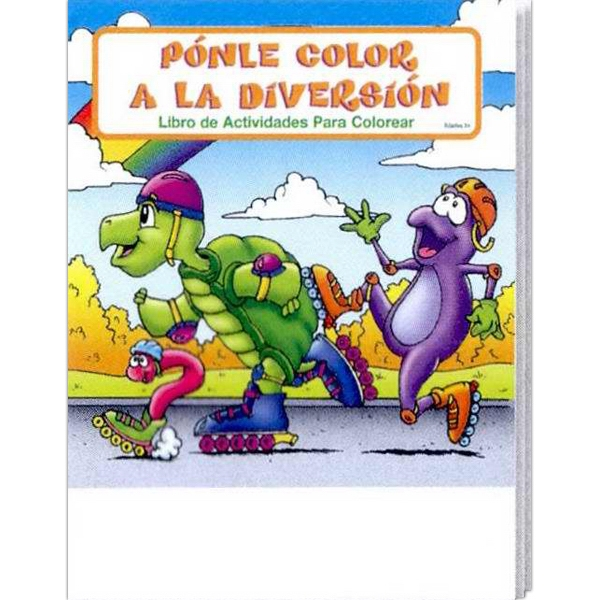 Item #1400FP Fun To Color Spanish Coloring Book Fun Pack
