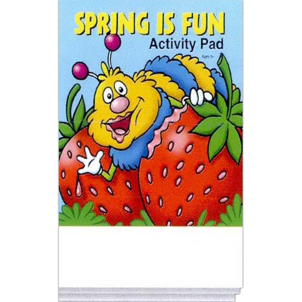 Item #0452 Spring Is Fun Activity Pad