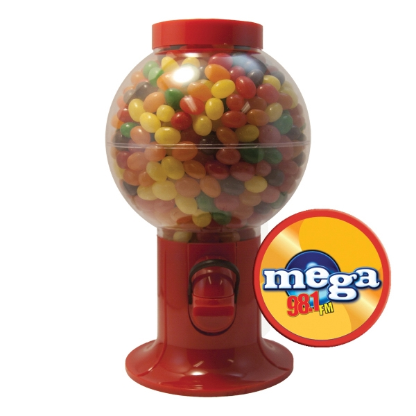 Item #GM06-JELLY Gumball Machine Dispenser with Jelly Beans Candy